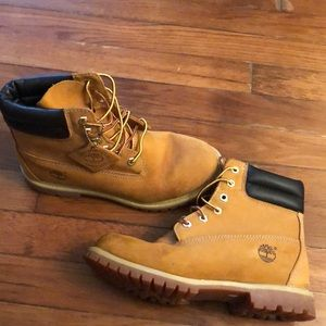 Women's timberland water proof boots
